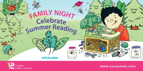 Family Night: Celebrate Summer Reading tickets