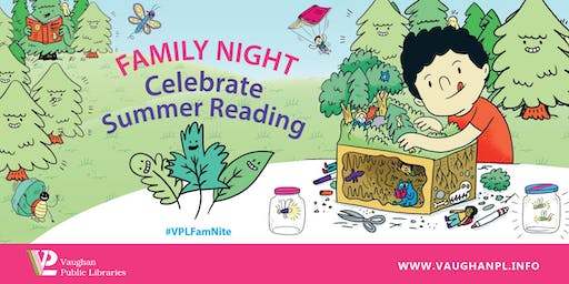 Family Night: Celebrate Summer Reading