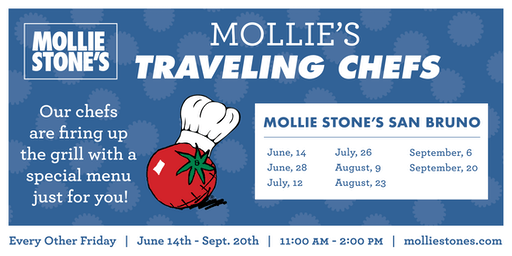 Annual Traveling Chefs BBQ at Mollie Stone's Markets San Bruno