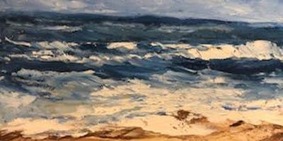 Paint Oils with Palette Knife Workshop includes Lunch
