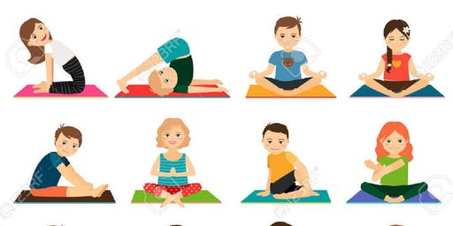 Kids Week Yoga at Chill Out 3-5 years 1-1:15pm