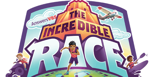 Vacation Bible School - The Incredible Race