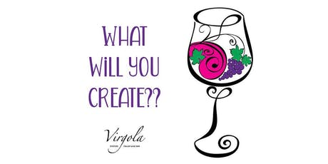 Paint-n-Sip Wine Glass Painting tickets