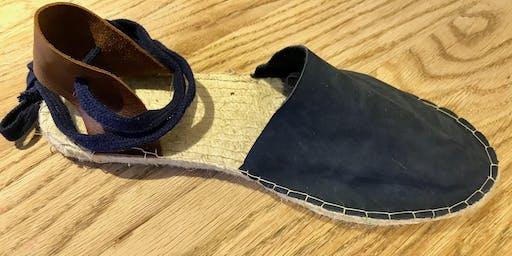 Leather Espadrille Sandal Workshop