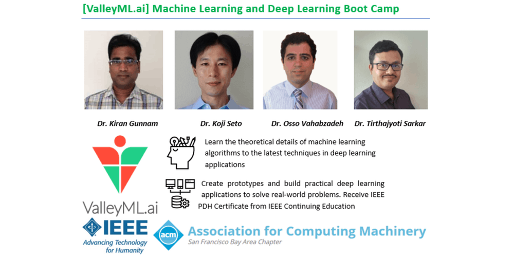 Machine Learning and Deep Learning Bootcamp Tickets