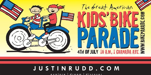 2019 Great American 4th of July Kids Bike Parade - free entry