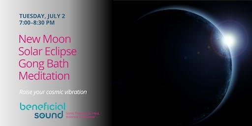 New Moon & Solar Eclipse Gong Meditation