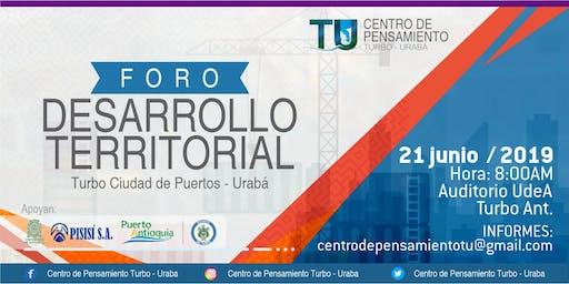 DESARROLLO TERRITORIAL   Turbo Ciudad de Puertos - Urabá