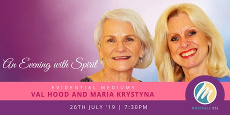 An Evening with Spirit - 26 July (Mortdale, NSW) tickets