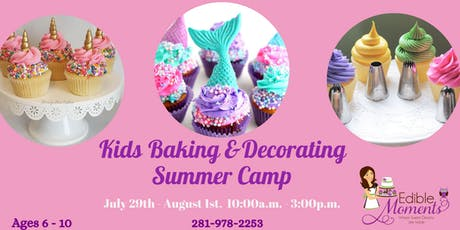 Kids Summer Baking & Decorating Camp tickets
