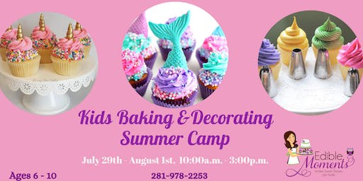 Kids Summer Baking & Decorating Camp