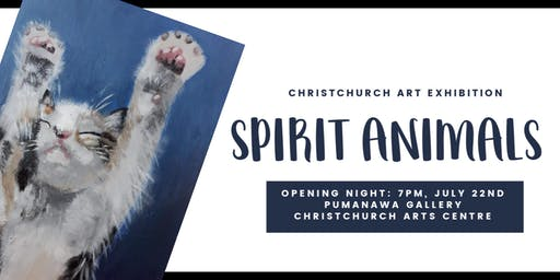 Spirit Animals - Art Exhibition