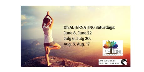 Free Saturday Morning Yoga with Krissy - classes are on Alternating Saturdays tickets