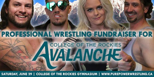 PPW Pro Wrestling Fundraiser for Avalanche Athletics