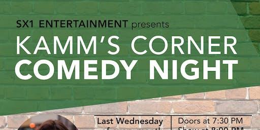 Kamms Corner Comedy Night