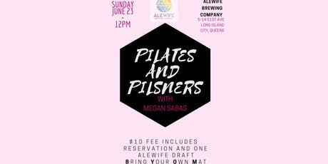 Pilates and Pilsners tickets
