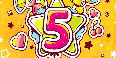 Happy 5th Birthday No Limitations tickets