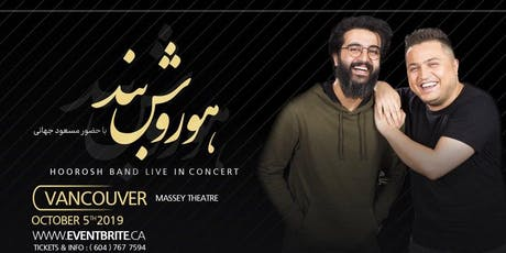 HOOROSH BAND LIVE IN VANCOUVER tickets