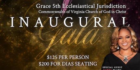 Grace 5th Jurisdiction Inaugural Gala tickets