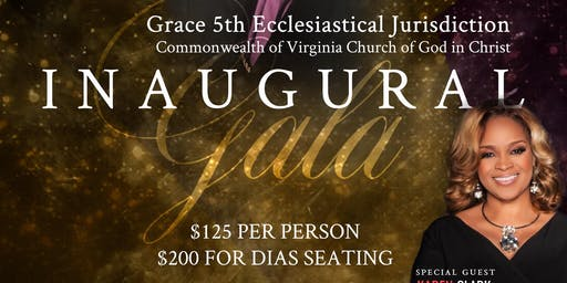 Grace 5th Jurisdiction Inaugural Gala