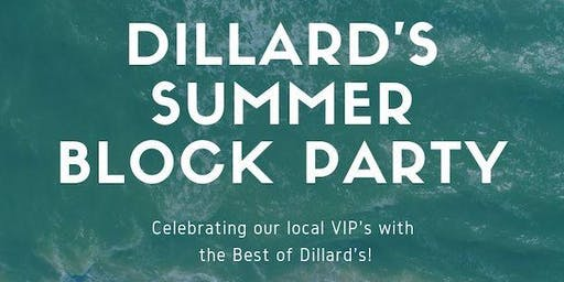 Dillard's Summer Block Party
