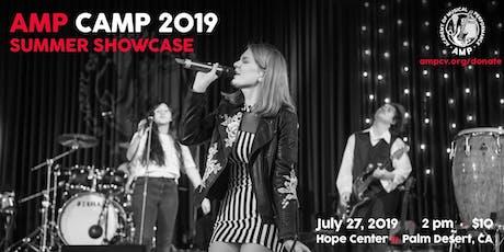 AMP Camp 2019 - Summer Showcase tickets