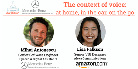 The context of voice: at home, in the car, on the go  tickets