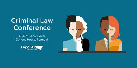 Legal Aid NSW Criminal Law Conference 2019 tickets
