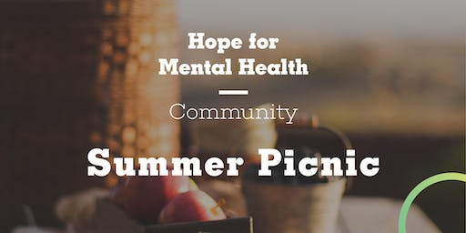 Hope for Mental Health Community Summer Picnic