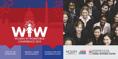 Inaugural D.C. Dept. of Employment Services Women in Workforce Conference tickets