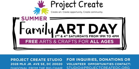 Project Create Family Art Day 2019 tickets