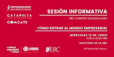 Pre-Registro Sesión Informativa Comcats y Emprendedores Universitarios Cámara de Comercio