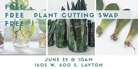 FREE! Plant cutting swap tickets