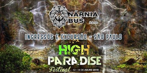 Excursão High Paradise Festival 2ª Edição | Nárnia Bus