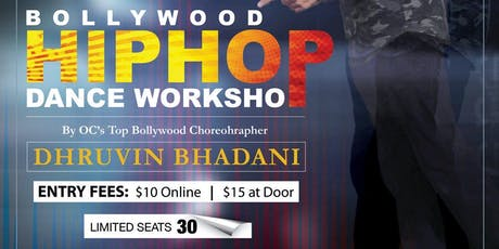 Bollywood Hip Hop Dance Workshop in Tustin tickets