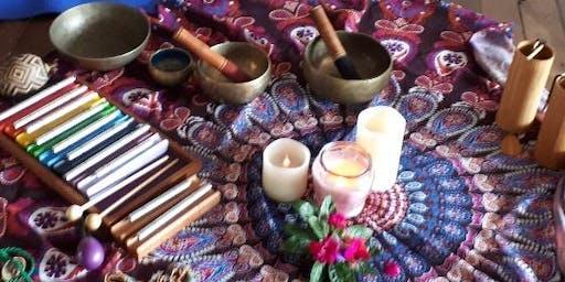 Sacred Sound Bath (Music Meditation) July 2019: Ashtanga Yoga Newcastle, NSW
