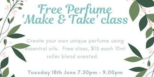Perfume 'Make & Take' class