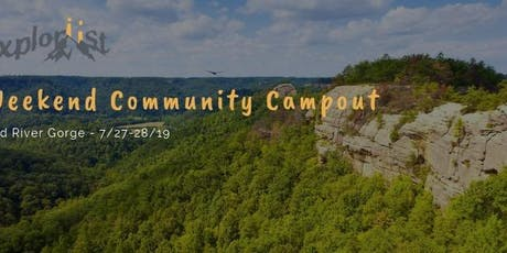 Community Campout - Red River Gorge tickets