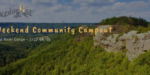 Community Campout - Red River Gorge