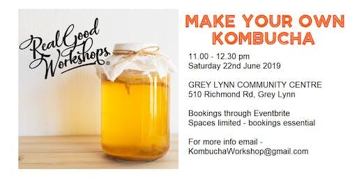Make Your Own Kombucha Workshop
