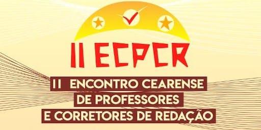 II ENCONTRO CEARENSE DE PROFESSORES DE REDAÇÃO E CORRETORES
