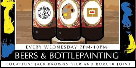 BEERS & BOTTLEPAINTING tickets