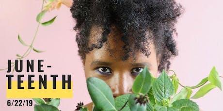 Juneteenth DIY Fresh Flower Perfume Social tickets