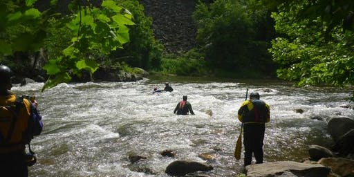 L4 Swift Water Rescue Class,  Tuckaseegee  River