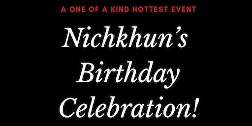 Nichkhun's Birthday Celebration 2019