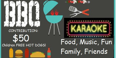 BBQ & KARAOKE Event Reception for Jorge GUADRON fo tickets