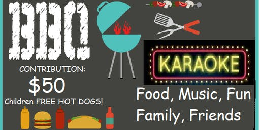BBQ & KARAOKE Event Reception for Jorge GUADRON fo