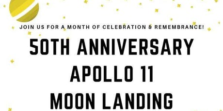 50th Anniversary of the Apollo 11 Moon Landing tickets