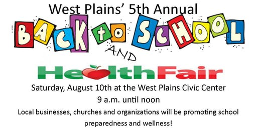 Back to School and Health Fair