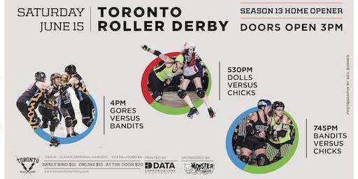 2019 Toronto Roller Derby Home Opener Round Robin Tournament